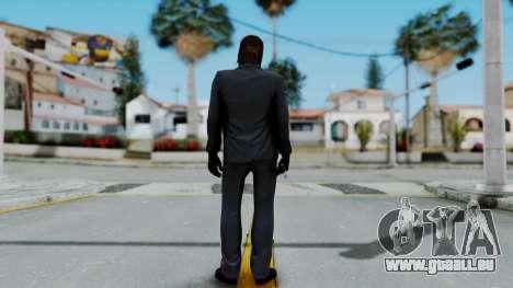 John Wich - Payday 2 pour GTA San Andreas troisième écran
