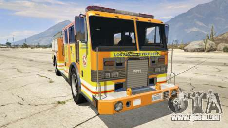 Los Angeles Fire Truck pour GTA 5