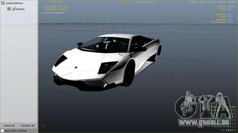GTA 5 2010 Lamborghini Murcielago LP 670-4 SV rechte Seitenansicht