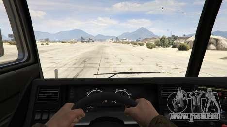 GTA 5 Los Angeles Fire Truck Rückansicht