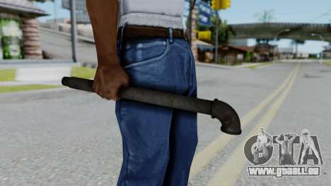 No More Room in Hell - Lead Pipe für GTA San Andreas dritten Screenshot
