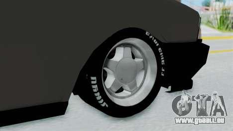Tofas Dogan SLX pour GTA San Andreas sur la vue arrière gauche