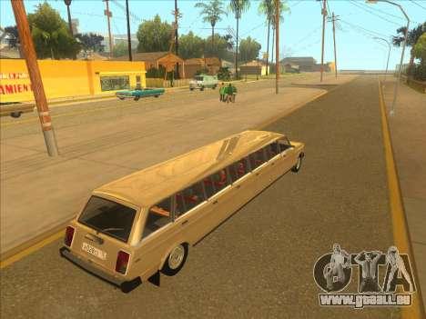 VAZ 2104 13-door pour GTA San Andreas vue de droite