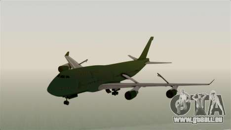 GTA 5 Jumbo Jet v1.0 für GTA San Andreas zurück linke Ansicht