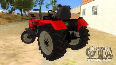 IMT Traktor pour GTA San Andreas sur la vue arrière gauche