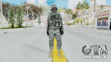Acu Soldier 2 pour GTA San Andreas deuxième écran