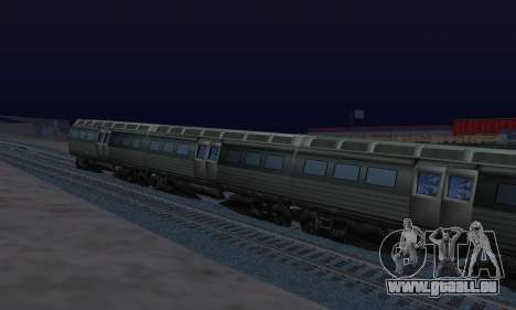 Batman Begins Monorail Train Vagon v1 pour GTA San Andreas vue de droite