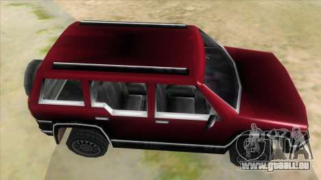 GTA III Landstalker für GTA San Andreas Innenansicht