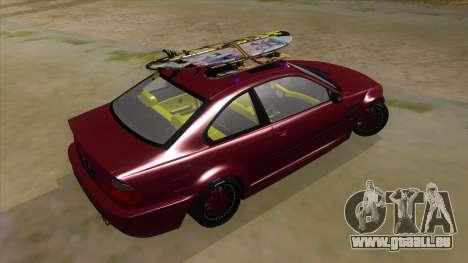 BMW M3 E46 Lily Itasha für GTA San Andreas rechten Ansicht