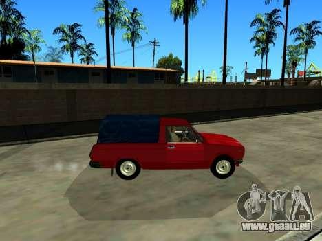 VAZ 2104 Ramassage pour GTA San Andreas laissé vue