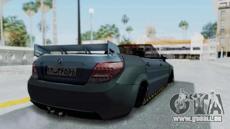 Ikco Dena Tuning pour GTA San Andreas laissé vue