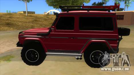 Mercedes-Benz G500 Off Road V3.0 für GTA San Andreas linke Ansicht