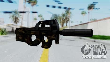 P90 Camo1 pour GTA San Andreas