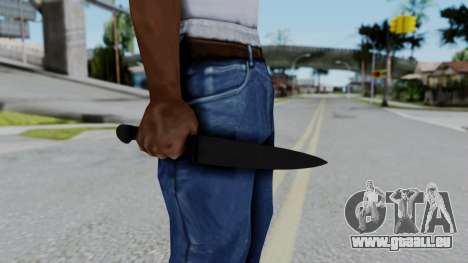 No More Room in Hell - Kitchen Knife für GTA San Andreas