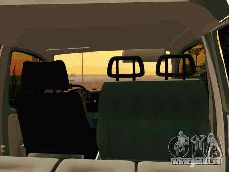 GAZ 33023 NORD pour GTA San Andreas vue de droite