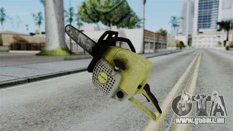 No More Room in Hell - Chainsaw für GTA San Andreas zweiten Screenshot