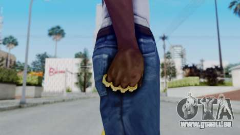 The Hustler Knuckle Dusters from Ill GG Part 2 pour GTA San Andreas troisième écran