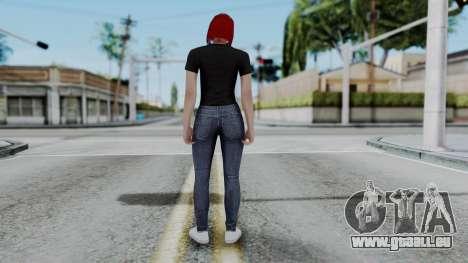 Female Skin 2 from GTA 5 Online für GTA San Andreas dritten Screenshot