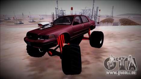 2003 Ford Crown Victoria Monster Truck für GTA San Andreas Innen