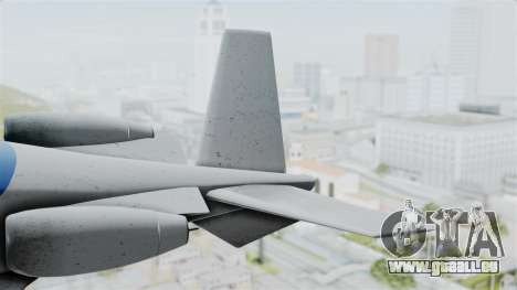 GTA 5 Vestra pour GTA San Andreas sur la vue arrière gauche