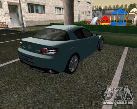 Mazda RX-8 für GTA San Andreas rechten Ansicht