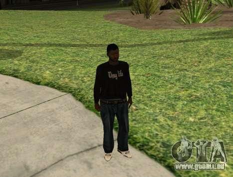 Black Madd Dogg (Thug life) für GTA San Andreas