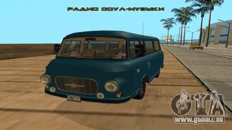 Barkas B1000 pour GTA San Andreas laissé vue