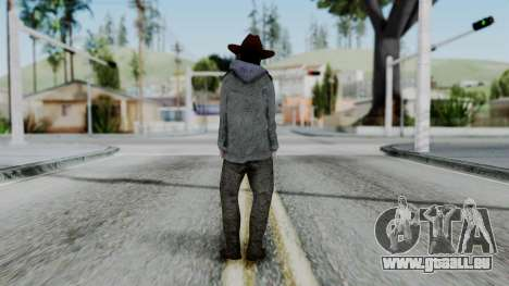 Carl Grimes from The Walking Dead für GTA San Andreas dritten Screenshot