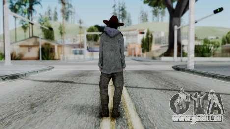Carl Grimes from The Walking Dead für GTA San Andreas dritten Screenshot