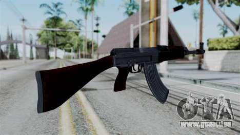 No More Room in Hell - CZ 858 pour GTA San Andreas troisième écran