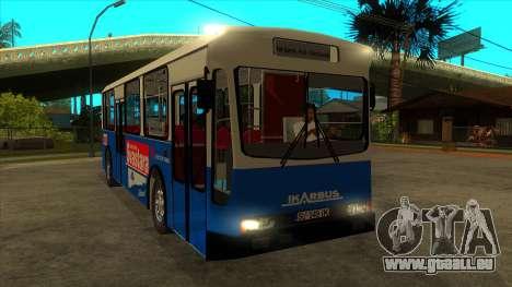Ikarbus - Subotica trans pour GTA San Andreas vue arrière