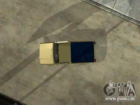 VAZ 2104 Ramassage pour GTA San Andreas vue intérieure