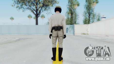 GTA 5 Cop-Biker für GTA San Andreas dritten Screenshot