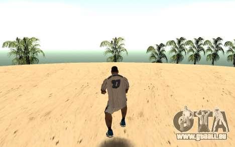 Invisibile BMX pour GTA San Andreas deuxième écran
