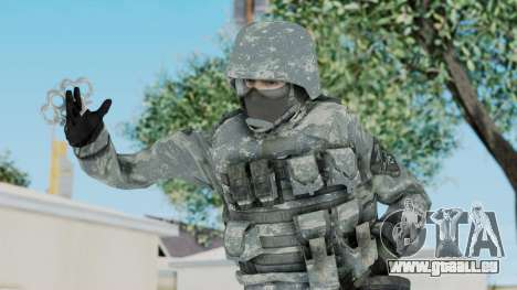 Acu Soldier 5 pour GTA San Andreas