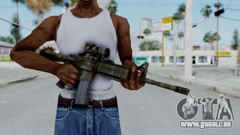 Arma2 M4A1 CCO Camo pour GTA San Andreas troisième écran