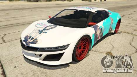 OreGairu painted Jester2 für GTA 5