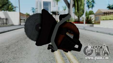 No More Room in Hell - Abrasive Saw pour GTA San Andreas