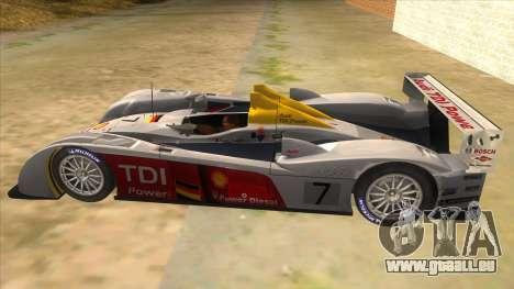 Audi R10 pour GTA San Andreas laissé vue