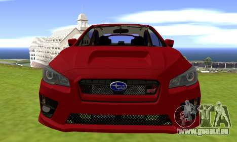 Subaru WRX STI 2015 pour GTA San Andreas vue de droite
