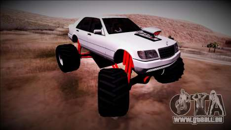 Mercedes-Benz W140 Monster Truck pour GTA San Andreas
