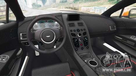 GTA 5 Aston Martin Vantage GT12 2015 vue arrière