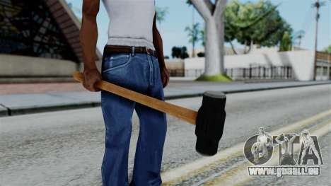 No More Room in Hell - Sledgehammer für GTA San Andreas dritten Screenshot