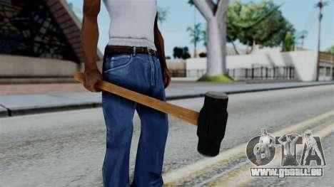 No More Room in Hell - Sledgehammer für GTA San Andreas dritten Screenshot