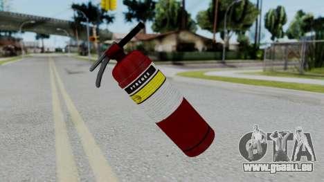 No More Room in Hell - Fire Extingusher für GTA San Andreas zweiten Screenshot