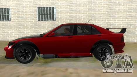 GTA V Karin Sultan RS 4 Door pour GTA San Andreas vue de côté