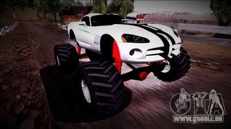 Dodge Viper SRT10 Monster Truck pour GTA San Andreas