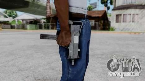 MAC-11 pour GTA San Andreas troisième écran