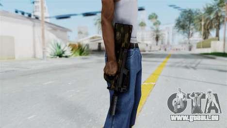 P90 Camo1 pour GTA San Andreas troisième écran