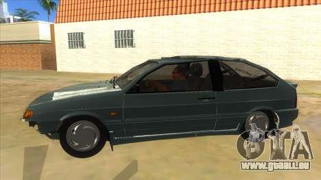 VAZ 2113 levier de vitesses pour GTA San Andreas laissé vue